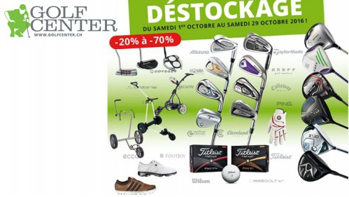 Special discounts at GolfCenter