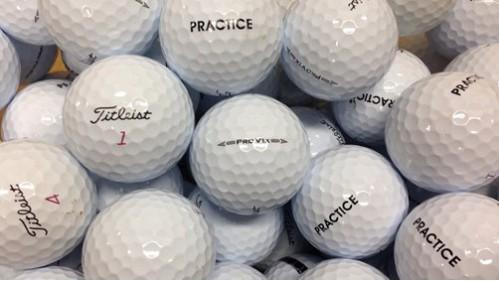 "Titleist ProV1-ProV1x ""Practice"" balls"