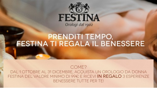Festina gifts you with well-being