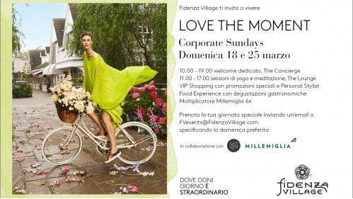 Fidenza Village Corporate Sundays
