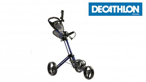 Inesis 3-wheel compact golf trolley
