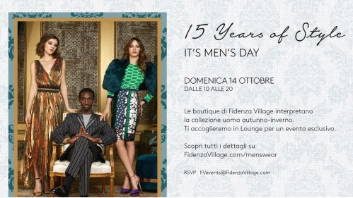 Fidenza Village - It's Men's Day