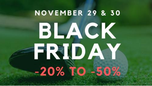 Black Friday Golf Center